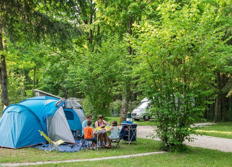 Emplacement tente CAMPING – DE LA FORÊT_4