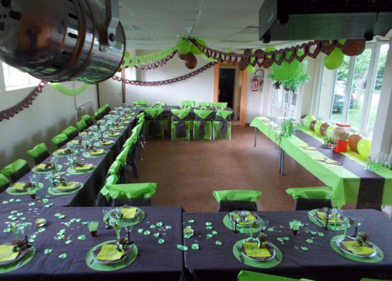 Salle à manger ou de réception