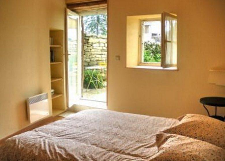 La chambre avec terrasse