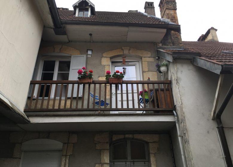 Balcon sur cour