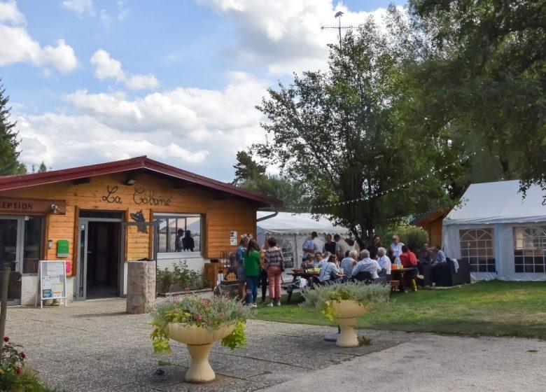 Accueil -Camping de la Forêt Levier 2019