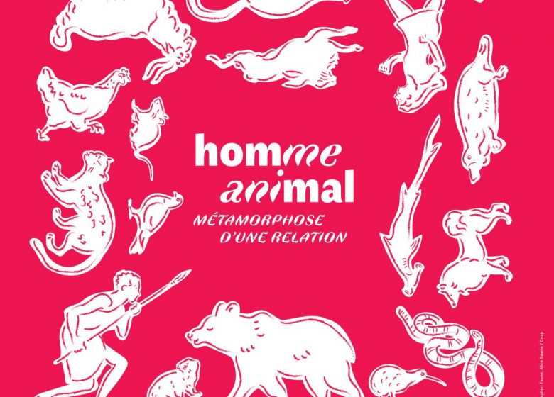 Affiche expo Homme-Animal