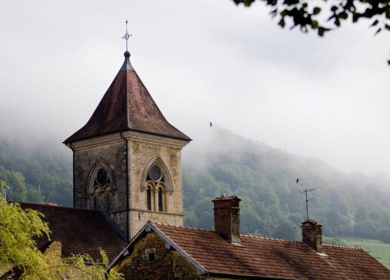 Clocher de Cussey-sur-Lison