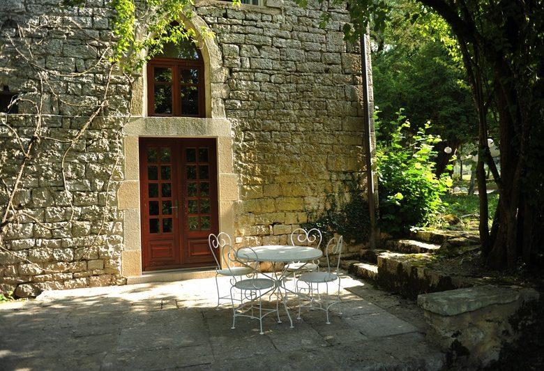Gite Mathey Doret – Terrasse de la tour