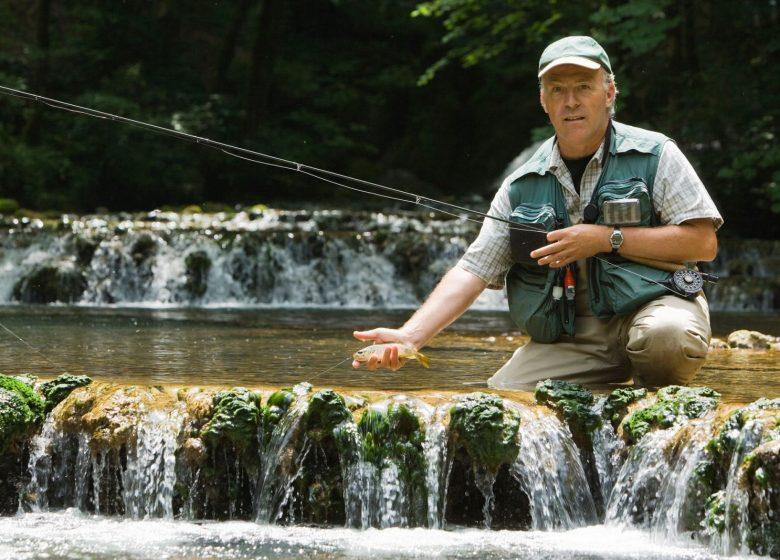 Stage de pêche à la mouche dans le Jura