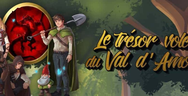 Le Trésor volé du Val d'Amour