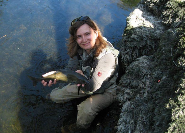 Stage de pêche à la mouche au féminin