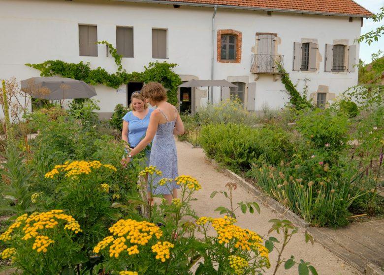 Jardin de la ferme familiale Courbet
